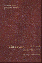 The pronominal dual in Icelandic # 17934