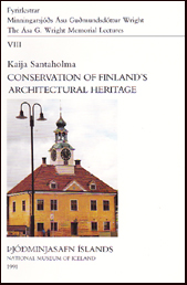 Conservation of Finland's architectural heritage # 18199