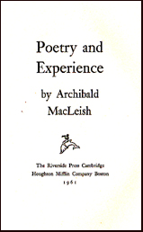 Poetry and Experience # 18379