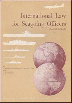 International law for seagoing officers # 19475