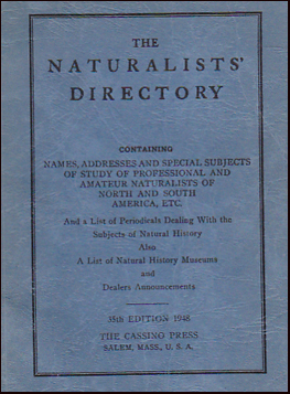 The Naturalists Directory