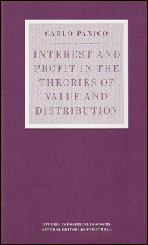 Interest and Profit in the Theories of Value and Distribution # 21640