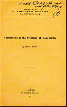 Contribution to the bryoflora of Kamtchatka