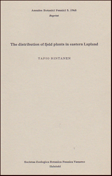 The sistributaion af fjeld plants in eastern Lapland # 21882