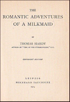 The Romantic Adventures of a Milkmaid # 22400