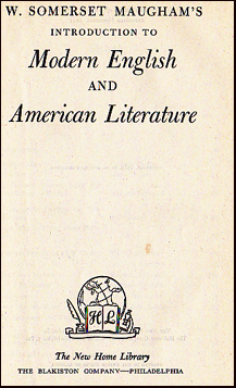 Introduction to Modern English and American Literature # 25241
