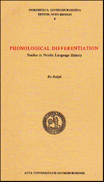 Phonological differentiation # 25807