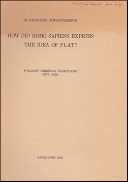How did Homo Sapiens express the idea of flat? # 25812