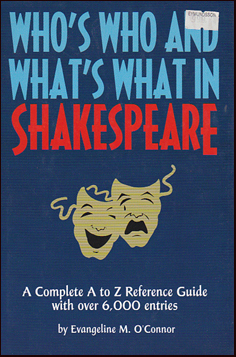 Who´s Who and What´s What in Shakespeare # 27099