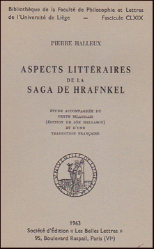 an analysis of the saga of hrafnkel freysgodi The sagas of icelanders has 3,104 ratings and 170 reviews  egils saga skallagrimmson, hrafnkel's saga freysgodi and laxdaela saga.