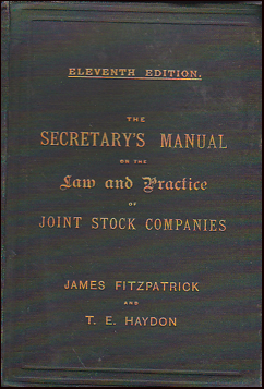 The Secretary´s Manual # 29414