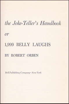 The Joke-Telles´s Handbook # 29681