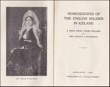 Homesickness of the English soldier in Iceland # 30239