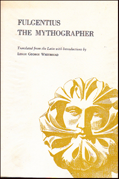 Fulgentius The Mythographer # 31782