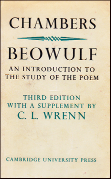 Beowulf. An Introduction to The Study of The Poem # 31802