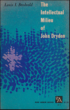 The Intellectual milieu of John Dryden # 31845