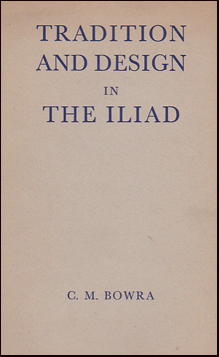 Tradition and Design in The Iliad # 31853