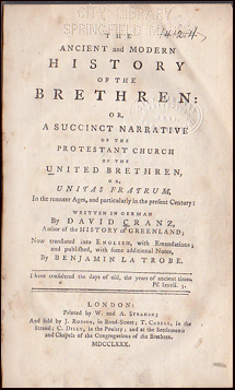 The Ancient and Modern history of the Brethren # 32570