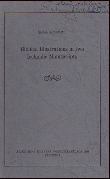 Biblical Illustrations in two Icelandic Manuscripts # 32788