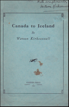 Canada to Iceland # 33891
