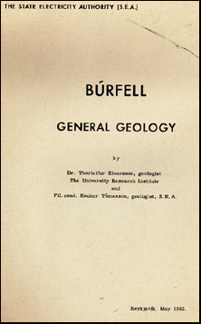 Búrfell. General Geology # 35317
