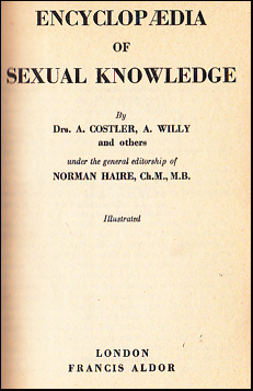 Encyclopædia of Sexual Knowledge # 35542