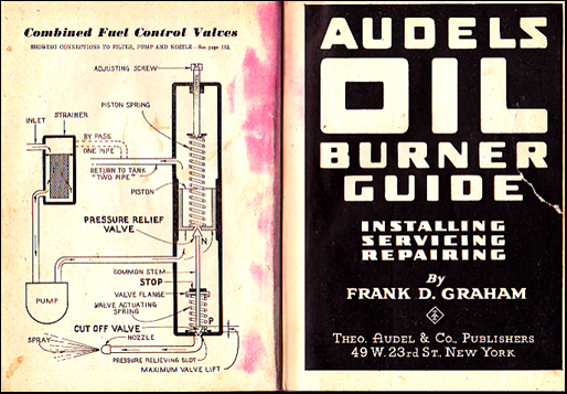 Audels Oil Burning Guide # 39006