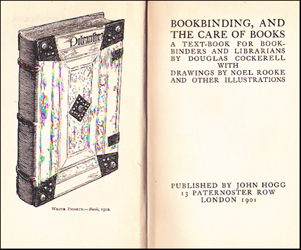 Bookbinding, and the Cate of Books # 39139
