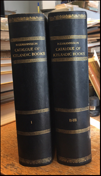 Catalogue of the Icelandic collection # 39222