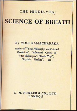 The Hindu-Yogi. Science of Breath # 39806