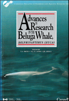 Advances in Research on the Beluga Whale # 40345