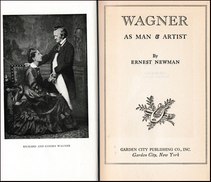 Wagner as man & artist # 40601