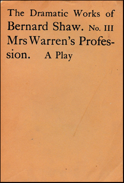 Mrs Warren´s Profession # 40603