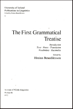 The first grammatical treatise # 40843