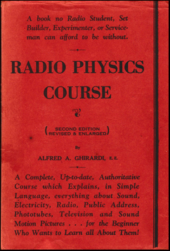 Radio Physics Course # 41054
