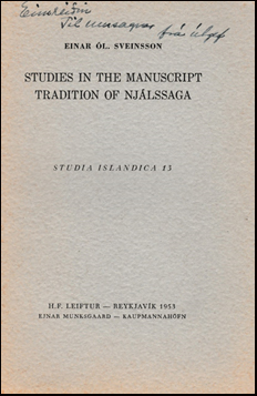 Studies in the manuscript tradition of Njálssaga # 41062