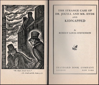 The Strange Case of Dr. Jekyll and Mr. Hyde and Kidnepped # 41148