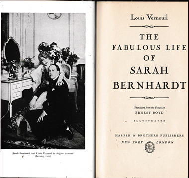 The Fabulous Life of Sarah Bernhardt # 41524