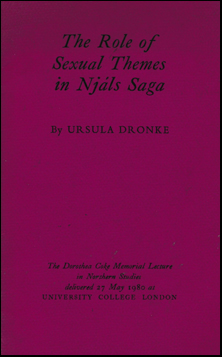 The Role of Sexual themes in Njáls saga # 41831