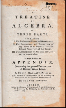 A Treatise of Algebra # 41993