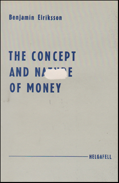 The Concept and Nature of Money # 44776