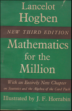 Mathematics for the Million # 49934
