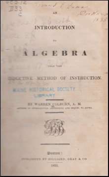 Introduction to Algebra # 44982