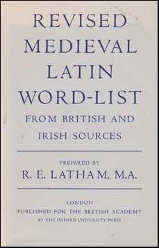 Revised Medieval Latin Word-list # 44992