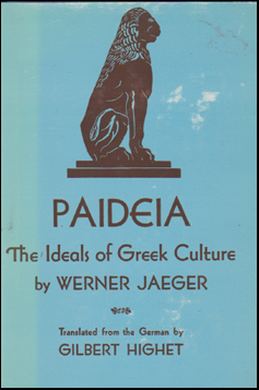 Paideia. The Ideals of Greek Culture # 45008