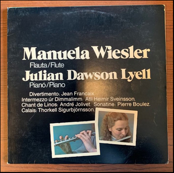 Manuel Wiesler and Julian Dawson Lyell # 45181