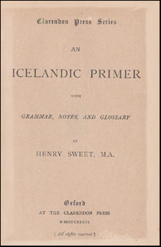 An Icelandic primer with Grammar # 45758