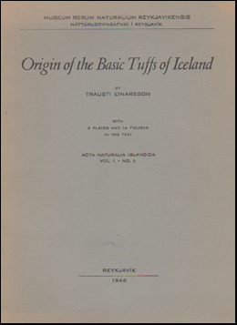 Origin of the Basic Tuffs of Iceland # 45857