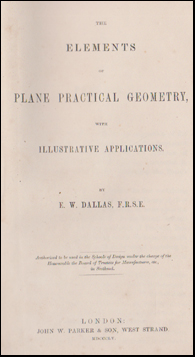 The Elements of Plane Practical Geometry # 45977
