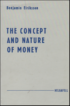 The Concept and Nature of Money # 48166